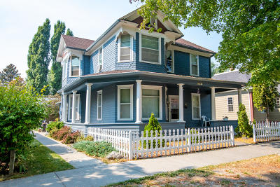 Kalispell Multi Family Home Under Contract Taking Back-Up : 528 3rd Avenue West