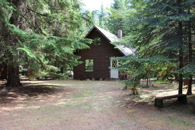 Lincoln County Single Family Home Under Contract Taking Back-Up : 4067 Bull Lake Road