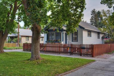 Missoula Single Family Home Under Contract Taking Back-Up : 517 East Florence Street