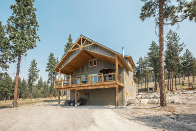 Flathead County Single Family Home For Sale: 455 Tranquil Valley Trail