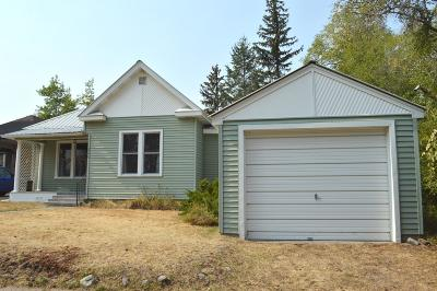 Whitefish, Olney Single Family Home Under Contract Taking Back-Up : 226 Montana Avenue
