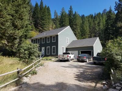 Missoula Single Family Home For Sale: 11020 Miller Creek Road