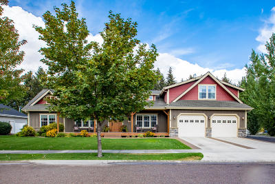 Flathead County Single Family Home For Sale: 15 Glacier Circle