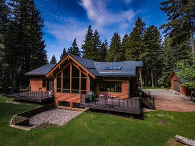 Flathead County Single Family Home For Sale: 1320 Mooring Meadow Road
