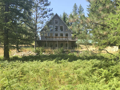 Sanders County Single Family Home Under Contract Taking Back-Up : 29 South River Front Drive