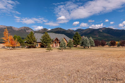 Kalispell Single Family Home Under Contract Taking Back-Up : 56 Whitetail Meadows Road