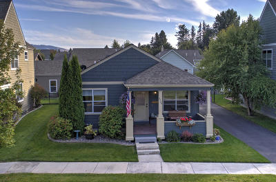 Missoula Single Family Home Under Contract Taking Back-Up : 2729 Renae Court