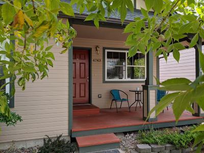 Missoula Single Family Home For Sale: 4743 Montrose Drive