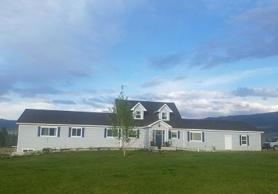 Stevensville Single Family Home For Sale: 3932/3936 Reed Butte Road