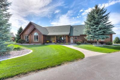 Hamilton Single Family Home For Sale: 470 Saddle Ridge Road