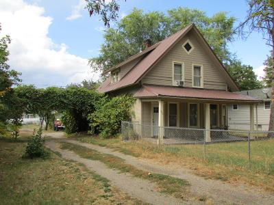 Kalispell Single Family Home Under Contract Taking Back-Up : 1216 1st Avenue West