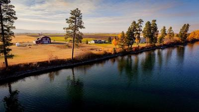 Flathead County Single Family Home For Sale: 3211 Lower Valley Road