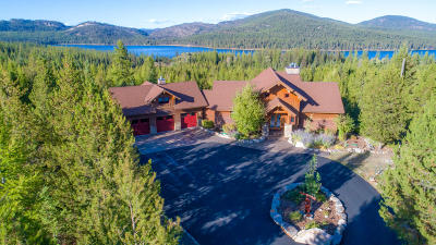 Flathead County Single Family Home For Sale: 1145 South McGregor Lake Road