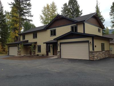 Flathead County Single Family Home Under Contract Taking Back-Up : 63a & 63b Cedar Pointe Loop
