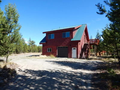 Flathead County Single Family Home Under Contract Taking Back-Up : 1281 Marion Hubbart Spur