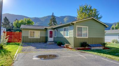Missoula Single Family Home Under Contract Taking Back-Up : 621 Utah Avenue
