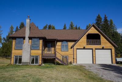Whitefish Single Family Home For Sale: 4179 Us-93