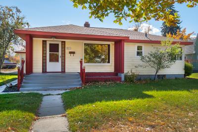 Missoula Single Family Home For Sale: 600 Stephens Avenue