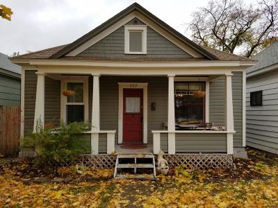 Missoula Single Family Home Under Contract Taking Back-Up : 533 North 2nd Street West