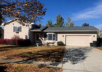 Flathead County Single Family Home Under Contract Taking Back-Up : 2205 Teal Drive