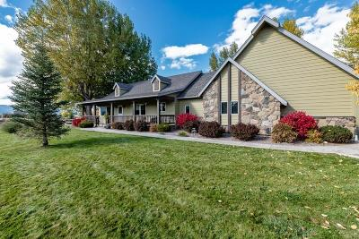 Missoula Single Family Home Under Contract Taking Back-Up : 4640 Zintek Place