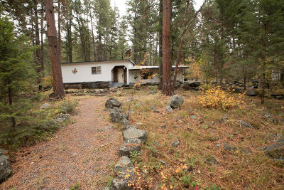Missoula County Single Family Home For Sale: 22750 Wallace Creek Road