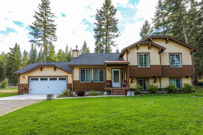 Kalispell Single Family Home Under Contract Taking Back-Up : 536 Braeburn Drive