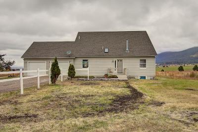 Saint Ignatius Single Family Home For Sale: 32306 Airport Road