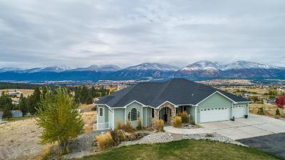 Florence MT Single Family Home Under Contract Taking Back-Up : $539,000