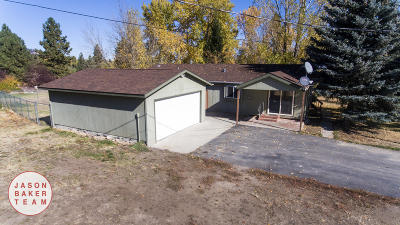 Florence MT Single Family Home Under Contract Taking Back-Up : $179,900