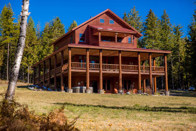 Flathead County Single Family Home For Sale: 1330 Cameron Lane