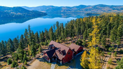 Flathead County Single Family Home For Sale: 4050/4054 North Ashley Lake Road