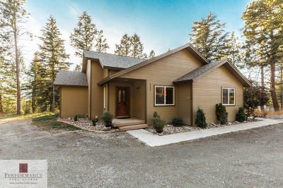 Flathead County Single Family Home For Sale: 841 White Basin Road