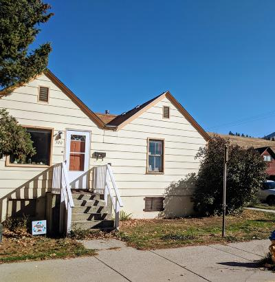 Missoula Single Family Home For Sale: 300 North 1st Street West