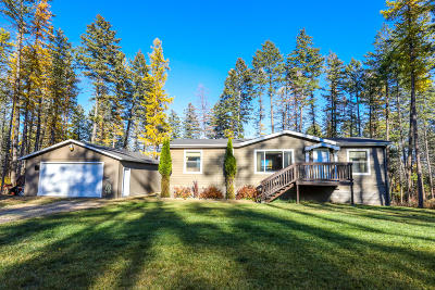 Whitefish Single Family Home For Sale: 267 Goat Trail