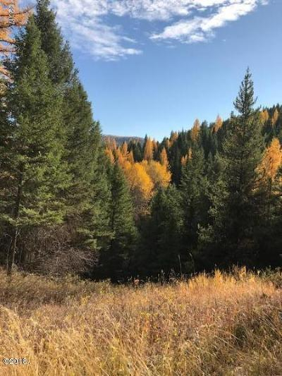 Kalispell Residential Lots & Land For Sale: Nhn Sawmill Lane