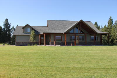 Flathead County Single Family Home For Sale: 410 Spring Prairie Road