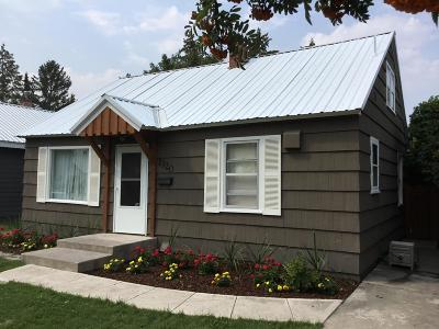 Kalispell Single Family Home Under Contract Taking Back-Up : 1320 5th Avenue East