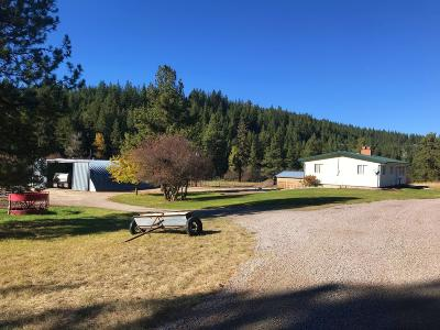 Missoula County Single Family Home For Sale: 24415 Doney Lane