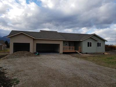 Florence MT Single Family Home For Sale: $297,000