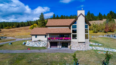 Kalispell Single Family Home For Sale: 525 North Hill Road