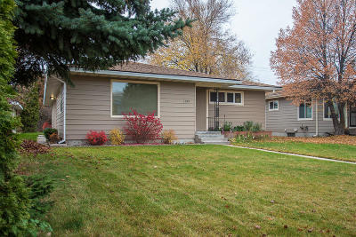 Missoula Single Family Home For Sale: 1139 Cleveland Street