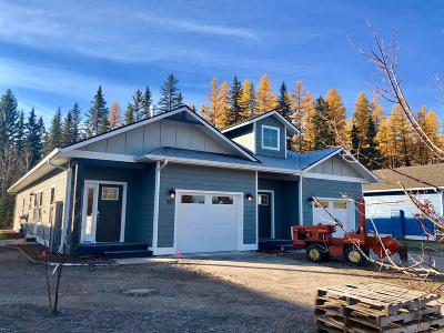 Whitefish Single Family Home Under Contract Taking Back-Up : 109 Great Northern Drive