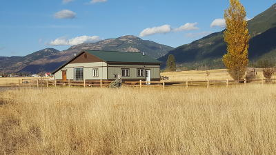 Flathead County Multi Family Home Under Contract Taking Back-Up : 240 Jensen Road