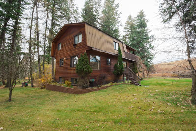 Flathead County Single Family Home Under Contract Taking Back-Up : 6090 Highway 35
