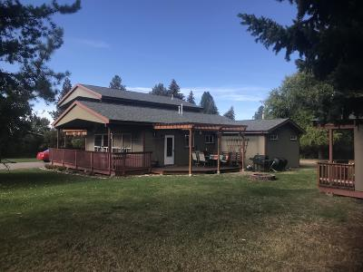 Missoula Single Family Home Under Contract Taking Back-Up : 6114 Helena Drive