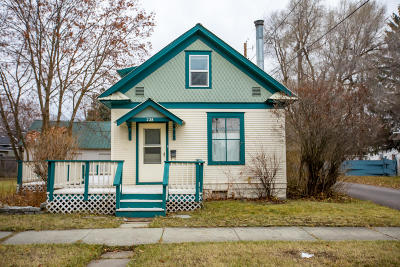Kalispell Single Family Home For Sale: 228 10th Street West