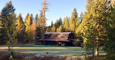 Whitefish Single Family Home Under Contract Taking Back-Up : 45 Glacier Vista Trail