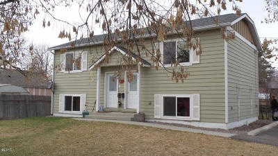 Kalispell Multi Family Home For Sale: 725 & 727 7th Street West