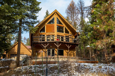 Whitefish Single Family Home Under Contract Taking Back-Up : 295 Antler Ridge Road